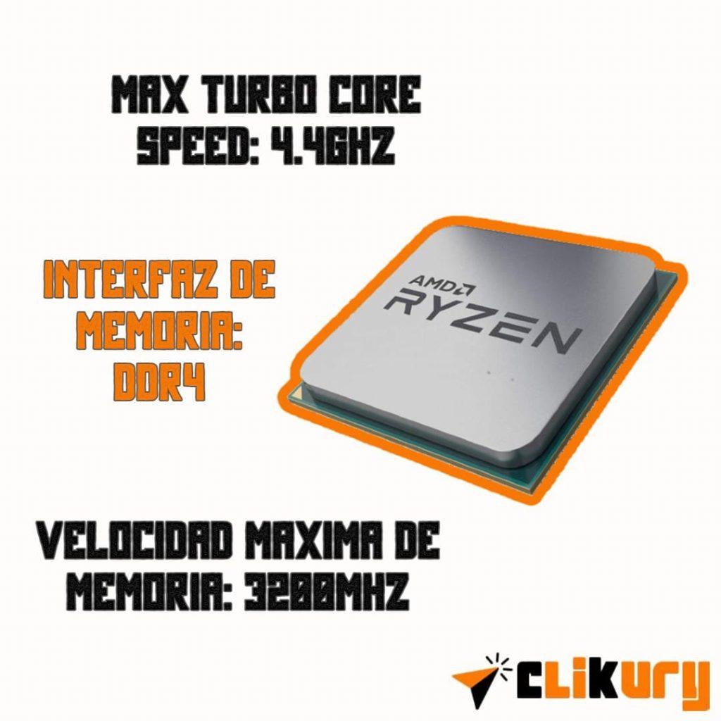 procesador Ryzen 7 3700X para PC