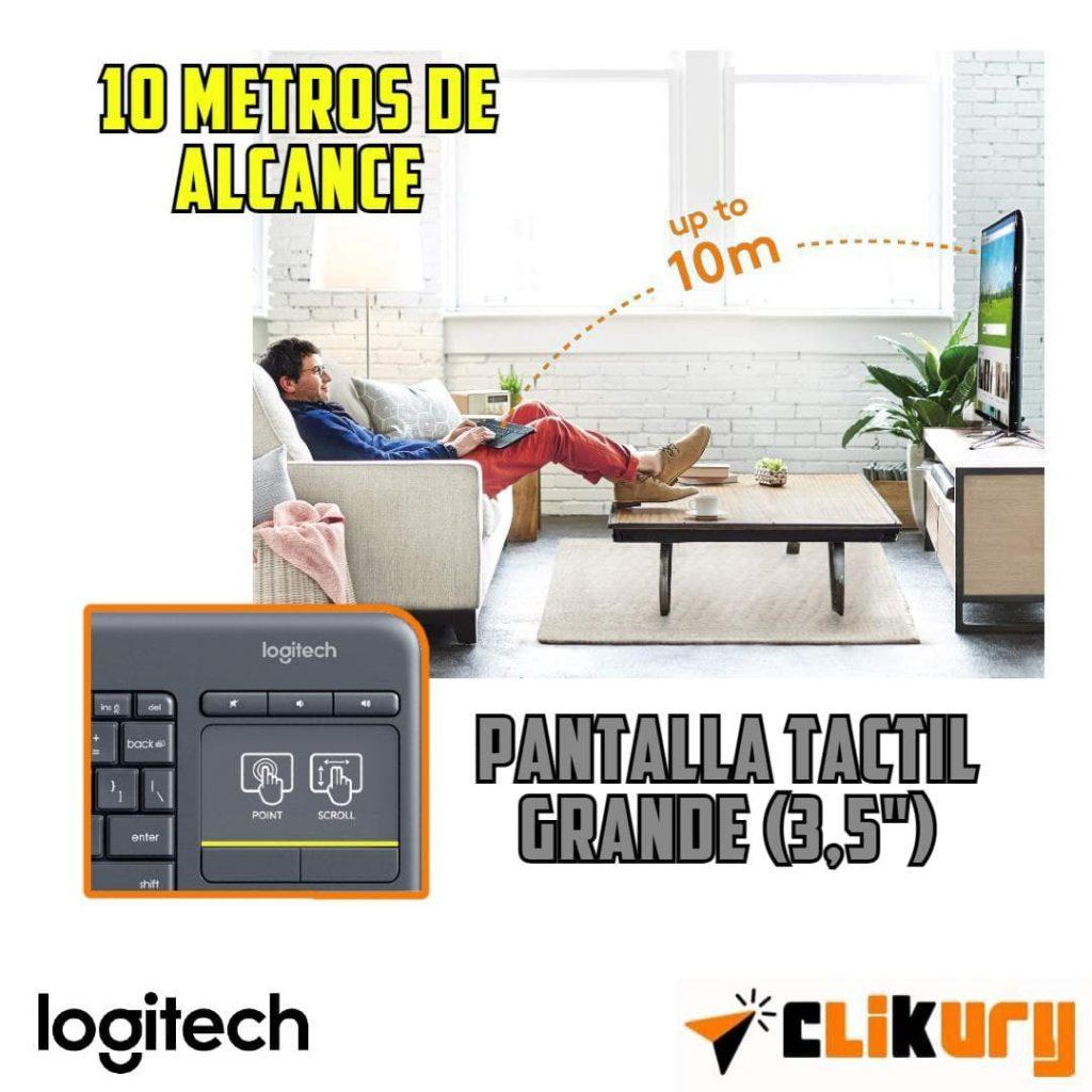 teclado Logitech K400 Plus opiniones