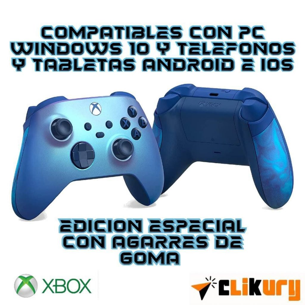 mando Xbox Aqua Shift Special Edition analisis español