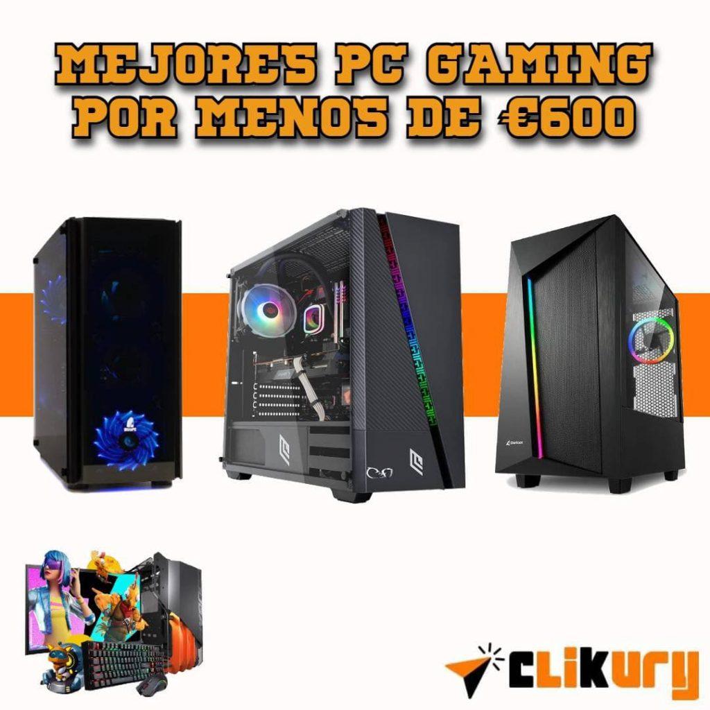 mejores PC por 600 euros