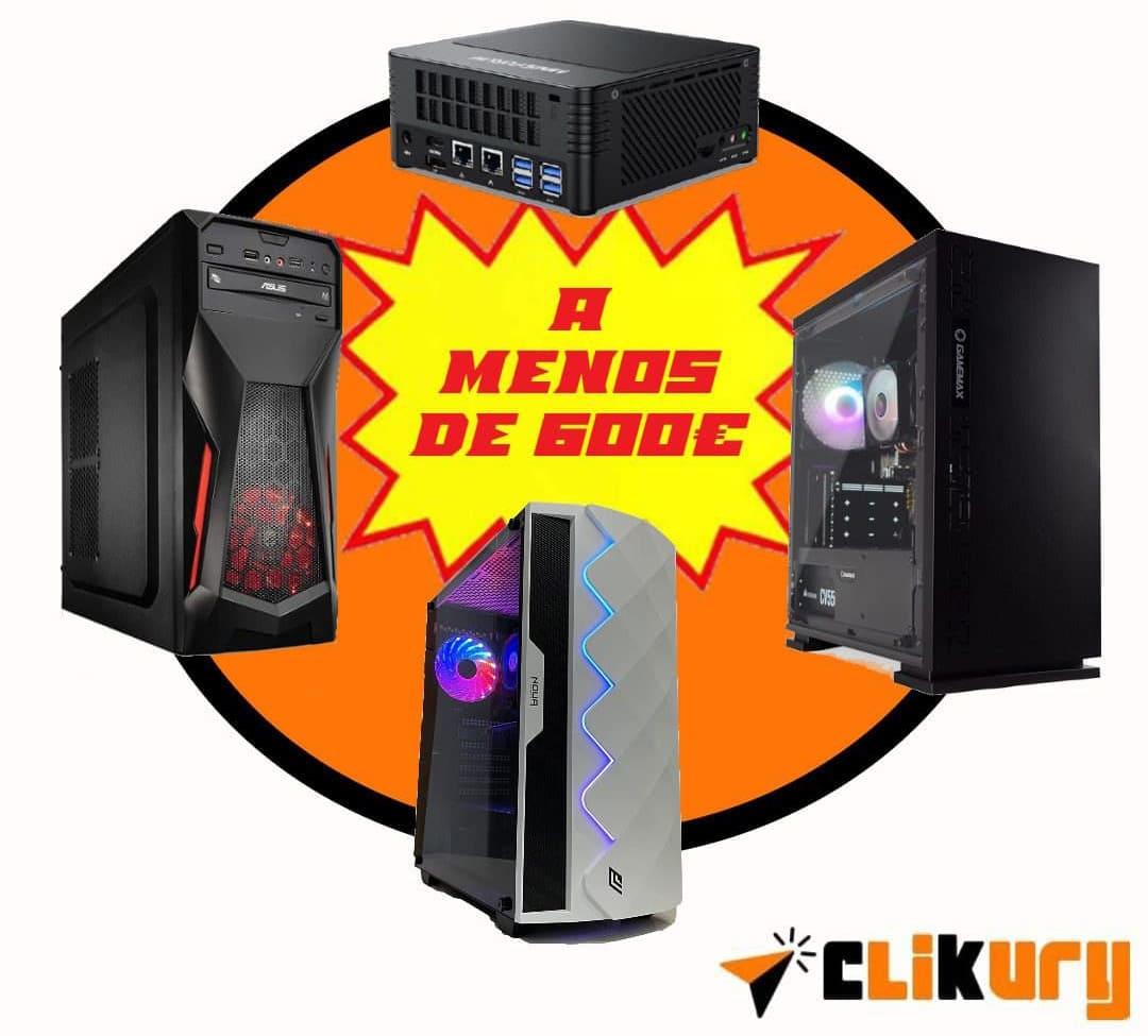 mejores pc gaming por menos de 600 euros