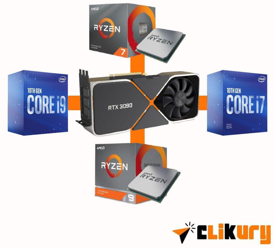 mejores procesadores para rtx 3090