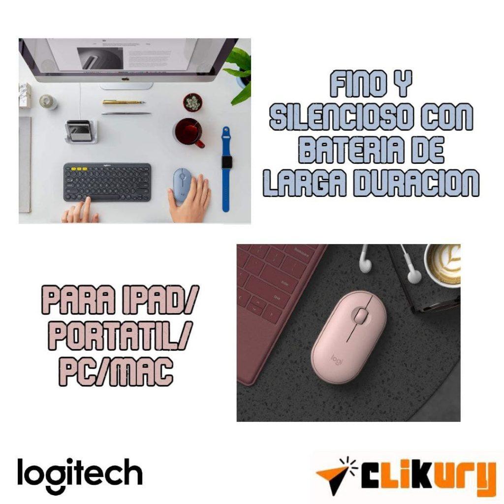 mouse Logitech Pebble M350 opiniones y review